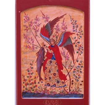 Heilige Aartsengel Raphaël met de vis